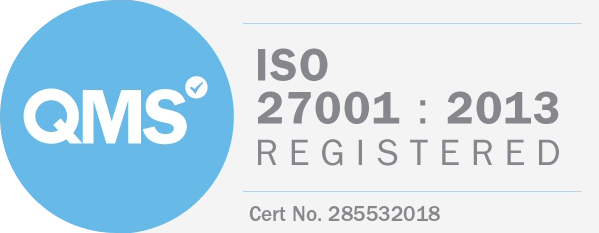 ISO 27001:2013 Registered